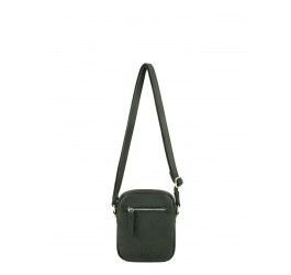 Sac porte travers synthe garni cuir Seka