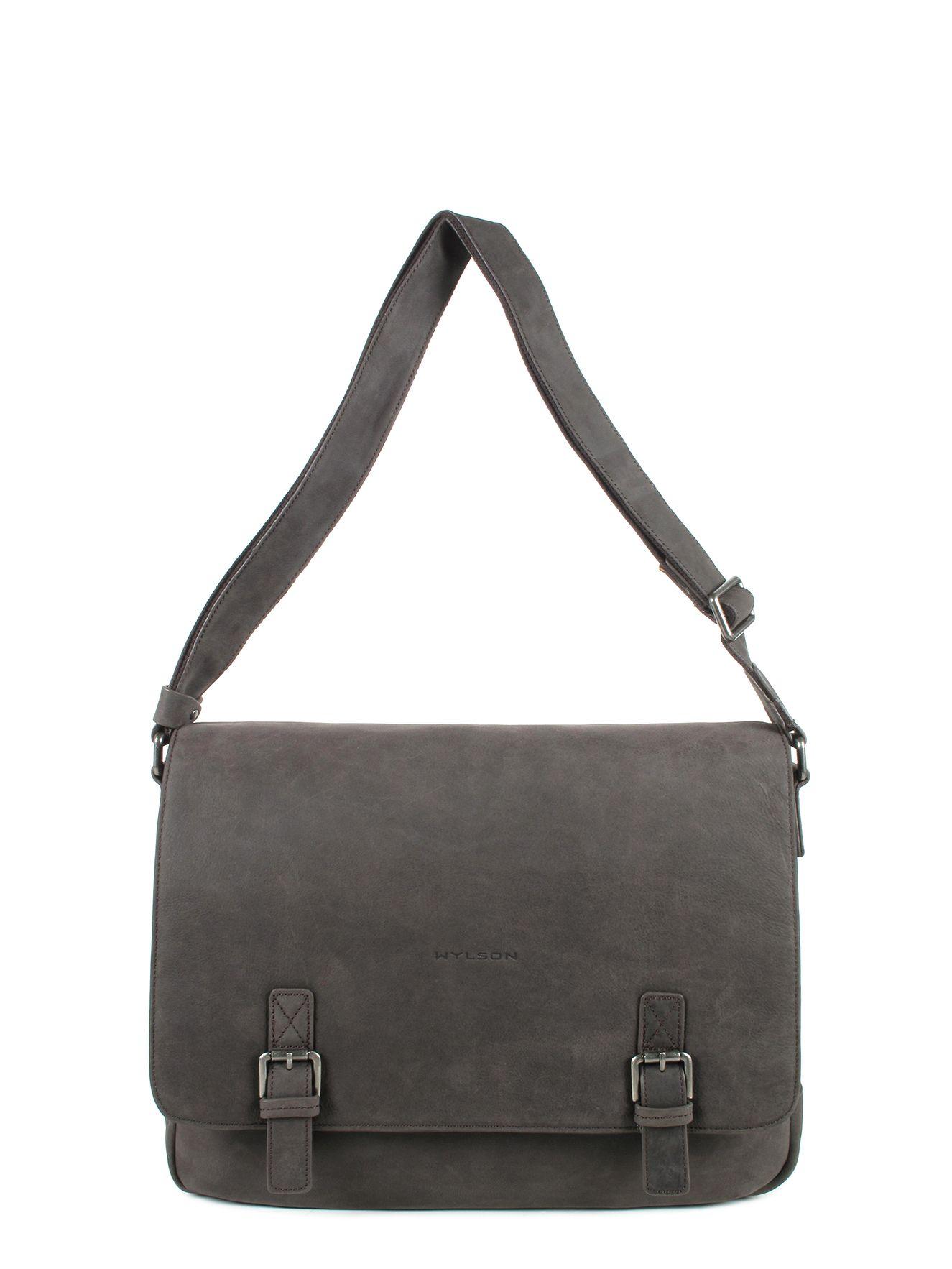 sac besace en cuir de vachette homme collection edward de wylson. Black Bedroom Furniture Sets. Home Design Ideas